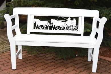 eine besondere Geschenkideen zur Hochzeit Geburtstag Kutsche mit vier Kutschpferden Vierspänner Pferdegespann Gartenbank Geschenkideen zum Jubiläum Geschenk zum Geburtstag suche exklusives Geschenk