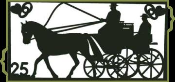 eine besondere Geschenkidee zur  Silberhochzeit Hochzeit Geburtstag Pferdemotive für die Wand