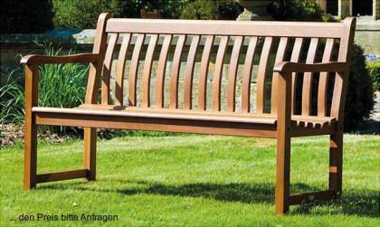 Alexander Rose  Holz Gartenbank Broadfield geölt