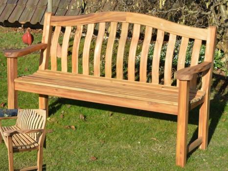 Weiße Holz Gartenbank, Geschenk für Männer die alles haben, Geschenkidee für Frauen, Geschenk  Gartenliebhaber Gartenfreunde Gartenbesitzer  Geschenk Für Freunde  Schöne Geschenke für Haus und Garten