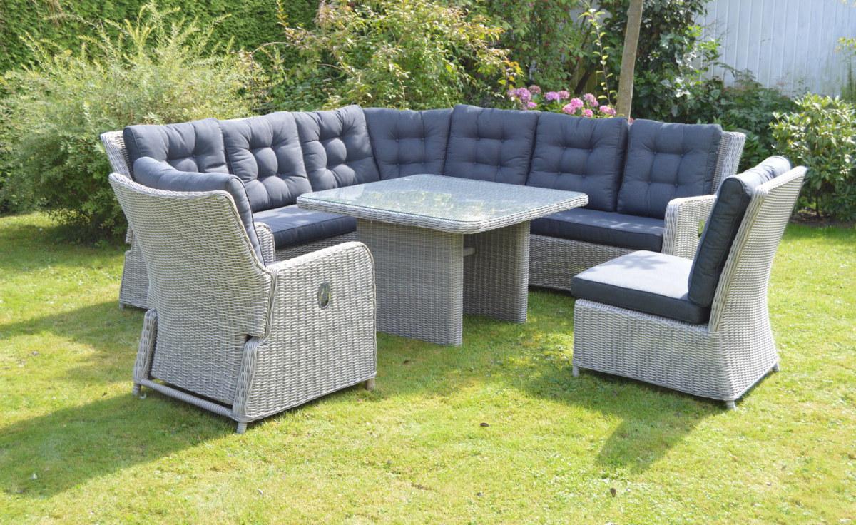 Amüsant Ausgefallene Gartenmöbel Sammlung Von Polyrattan Lounge Gartenmöbel Bringen Eine Wohnliches Ambiente