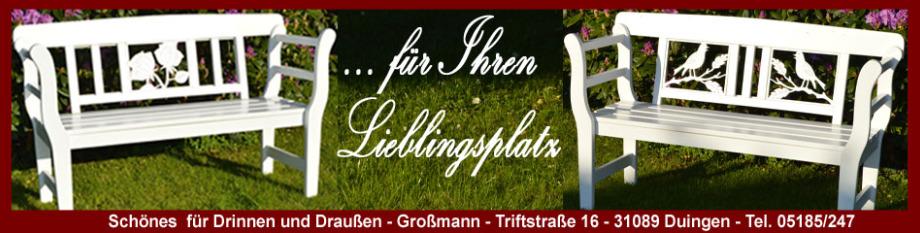 Großmann Duingen Gartenbänke Geschenke Zur Hochzeit Geschenke Zur